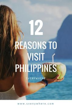 Why should you visit the Philippines? Here are 12 reasons to visit a country full with the best beaches, nature, wildlife, adventure, relax and sun. Travel to the Philippines fast, before it is too late and all the tourists take over this beautiful country. Go for diving, swim in the sea, paradise white beaches and volcano's and hiking options. Check here every reason you need to visit this amazing country.