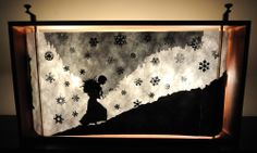 2 HAWKS 2 FISHES: Saturday Shadow Puppet Show at Black Cherry Puppet Theater!