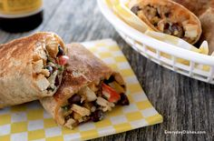 Love Chipotle? Cut down on calories and cash spent with our delicious take—a crispy southwest chicken wrap recipe.