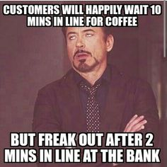 Bank Teller Memes. Best Collection of Funny Bank Teller Pictures
