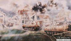 1st Battalion Cheshire Regiment by David Rowlands.