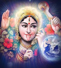 Kali Hindu, Durga Maa, Hanuman, Shiva Linga, Shiva Shakti, Kali Goddess, Mother Goddess, Kali Mantra, Durga Painting