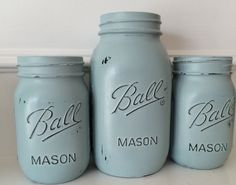 A personal favorite from my Etsy shop https://www.etsy.com/listing/247931674/painted-mason-jars-1-quart-and-2-pint