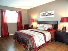 A beautiful bedroom so comfortable staged by Maximum Impact Plus
