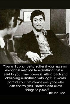 Bruce lee is a Hollywood and martial arts icon. His contribution to the world of fighting is still remembered today. Wise Quotes, Quotable Quotes, Great Quotes, Motivational Quotes, Inspirational Quotes, Qoutes, Cherish Quotes, Idiot Quotes, What If Quotes