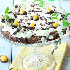 Image for Påsktårta med cheesecake Cheesecake, Sugar And Spice, Frosting, Recipies, Brunch, Spices, Pudding, Sweets, Candy