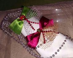 Porta guardanapo natalino