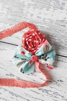 M2M Matilda Jane Good Hart Spring Collection. Headband. Birdie Baby Boutique.