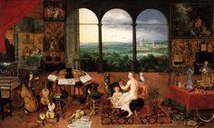 File:Jan Brueghel (I) - The Sense of Hearing - WGA3574.jpg