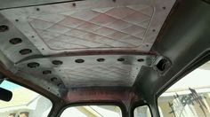 Fabricated sheet metal interior panels of an Advanced Design pickup trucl cab pic 1