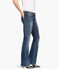 Boot cut Low Jeans | Product Detail | H&M