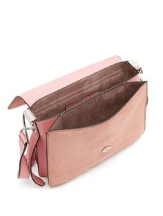 J.W.ANDERSON Disc Small Leather Cross-Body Bag, Light Pink