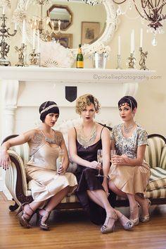 That's so #Gatsby #wedding