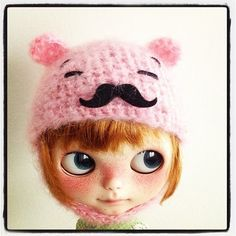 Working in new designs, Mr Bear hat, what do you think? Hahahahaha by *gamusina*, via Flickr