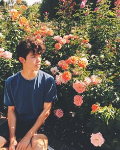"6,042 Likes, 72 Comments - Conan Gray (@conangray) on Instagram: ""in the rose garden sits a boy, scarcely larger than a grain of sand."""