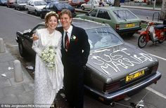 I do: Melanie Hill, who starred in the classic sitcom Bread, became Sean Bean's second wife in 1990