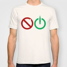 a simple design, vaping tshirts