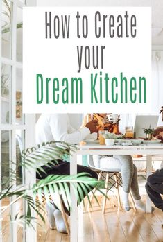Top tips and planning hacks on how to create your dream kitchen. It really is possible to have the kitchen of your dreams if you know how to plan it and where to find your inspiration and decor and design direction #ktichendesign #dreamkitchen #kitchendecor #kitchenplanning #kitchen Beautiful Space, Beautiful Homes, Splashback Tiles, Cheap Kitchen, Shaker Style, Home Hacks, Simple House, Beautiful Kitchens, Easy Projects