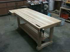 Hard Maple Workbench