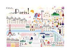 bairros e monumentos de paris #paris #maps