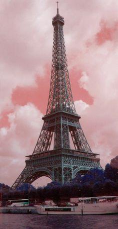 La vie en rose- Eiffel Tower, Paris.