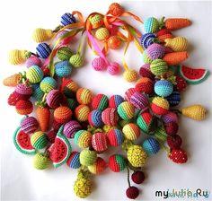 Relasé: Bijoux di palline all'uncinetto Fai da Te - idee e ispirazioni. Sii originale!