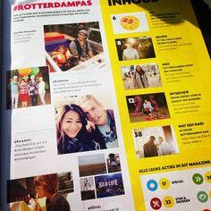 Rotterdampasser Kaayuan kwam zichzelf tegen in het magazine :) #rotterdampas