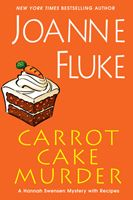 a mystery by Joanne Fluke, the Hannah Swensen mysteries - - -with recipes ;)