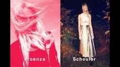 Proenza Schouler ad spring 2014 models: charlotte lindvig and harleth kuusik photographer: david sims
