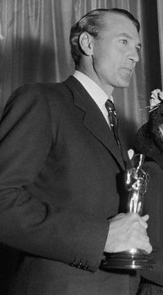Gary Cooper, Won 2 academy awards 1,Sergeant York, 1942 and High Noon 1952