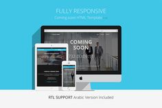 Check out [*]Responsive Coming Soon HTML by Pixel Strawberry on Creative Market