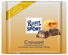RITTER SPORT Fake Schokolade Croissant