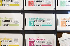 Baby Showers | Gatsby Event Branding