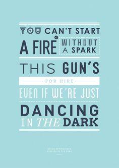 Dancing in the Dark by Bruce Springsteen