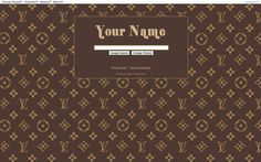 Louis Vuitton theme from ShinySearch