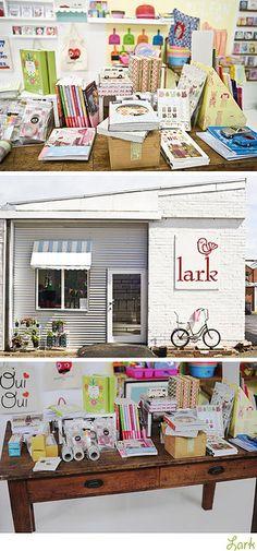 Table arrangement.    Shop Tour: Lark by decor8, via Flickr