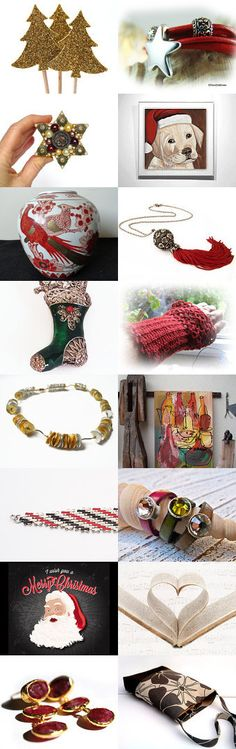 Christmas wish list by Petra Brömme on Etsy--Pinned with TreasuryPin.com