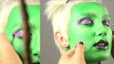 How to: Guardian Warrior Alien face paint