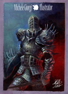 Michele Giorgi Illustrator                     : Kirk, Knight of Thornes ( work in progress) STEP 3...
