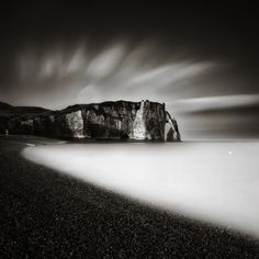 Etretat: By Alain Baumgarten, more artworks https://www.artlimited.net/al-baum #Photography #Digital #Nature #Scenery #Beach