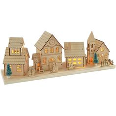 Christmas village LED decoration 2