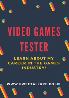 I've worked as a video games tester for over 5 years now in the videogames industry so I thought I'd talk to you about my career and answer some of your questions.  Learn About My Games Tester Job: Q&A.
