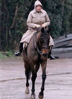 HAPPY WHEN RIDING ONE OF HER HORSES..........ccp