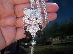 Hello Kitty Necklace 3D SUPER CUTE