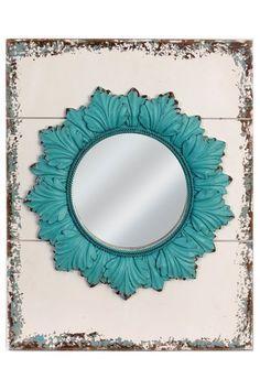 Wood Framed Mirror  by VIP International on @HauteLook
