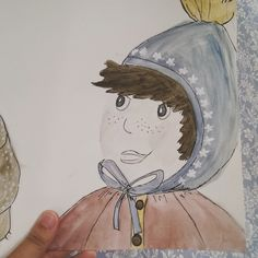 Boy and Bear - I do remember - a watercolor story 2016 by Janina Sperling