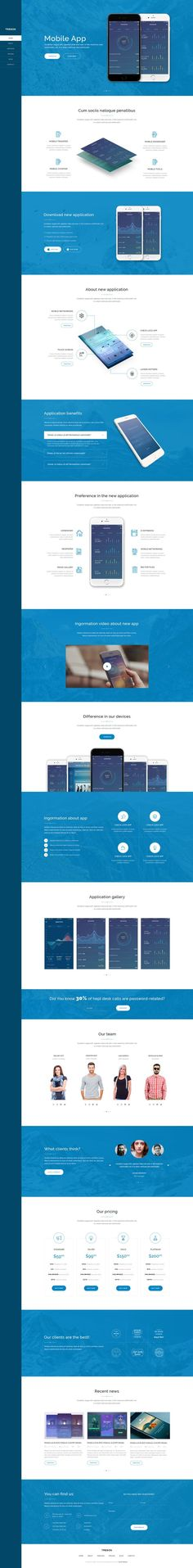 Treson - One Page Agency, App, Startup PSD Template • Download ➝ https://themeforest.net/item/treson-one-page-agency-app-startup-psd-template/15707708?ref=pxcr. If you like UX, design, or design thinking, check out theuxblog.com