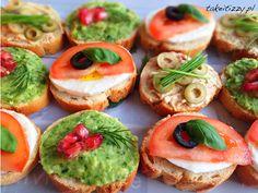 Znalezione obrazy dla zapytania mini kanapeczki