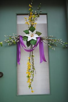 Lent / Easter door wreath Catholic