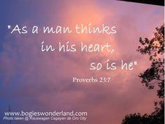 Proverbs 23:7